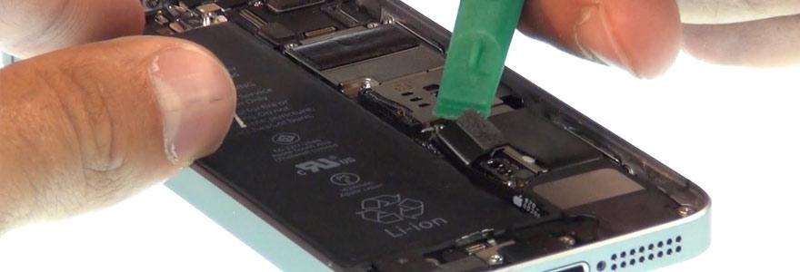 la batterie d'un iPhone 6