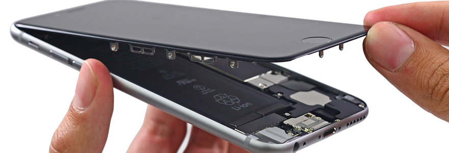 pannes les plus courantes sur iphone 6