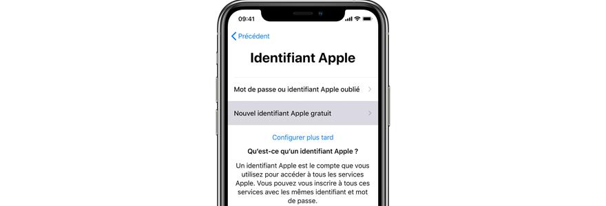 identifiant Apple